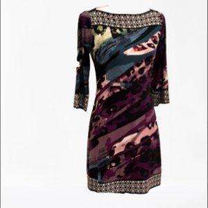 Ali Ro multi print dress size 0